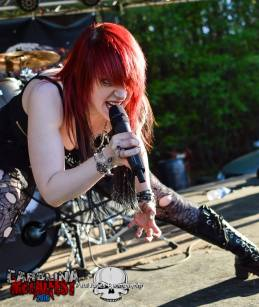 Raimee at Carolina Metalfest, Paul Jones Photography