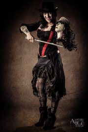 Aria Novi (Bass/Vocals); Photography by Altered Ego Images