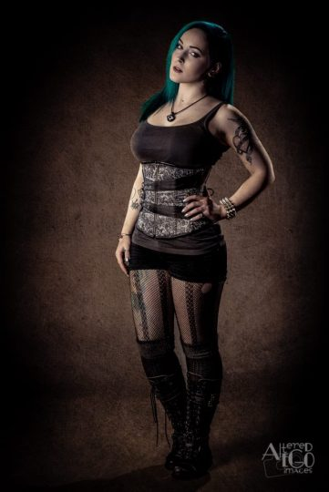 Morgan Riley (Vocals); Photography be Altered Ego Images